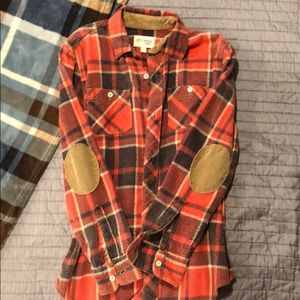Other - Boys flannel button down shirt.